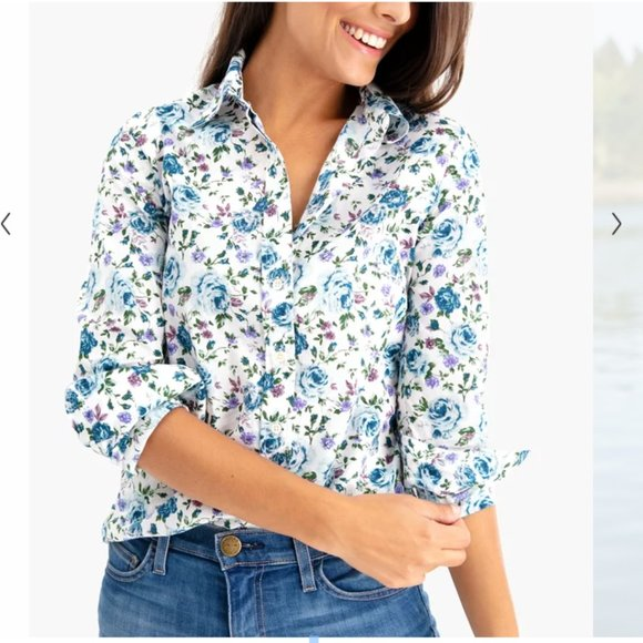 The Shirt by Rochelle Behrens Tops - Long Sleeve Essential Icon Shirt